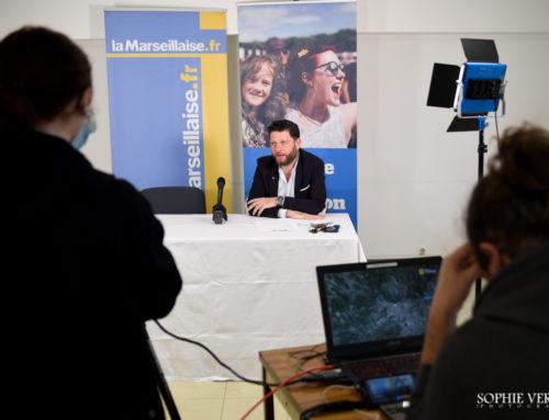 Conférence de presse pour la 43eme édition du grand prix cycliste de Marseille